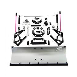 Silver Aluminum Snow Plow Kit
