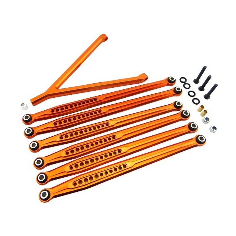 Aluminum Link Set for 12.3 (313mm) Scx Orange