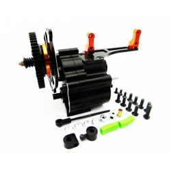 2 Speed Gear Box with Steel Gear Short Shaft Output
