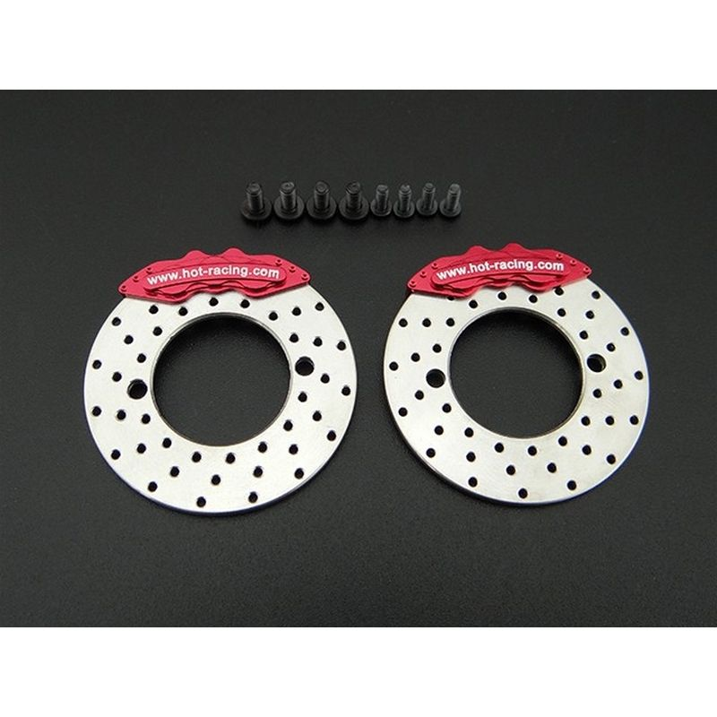 Brake Disc and Caliper - fits SCX10 II