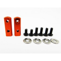 90 Degree Universal Servo Mount - Orange
