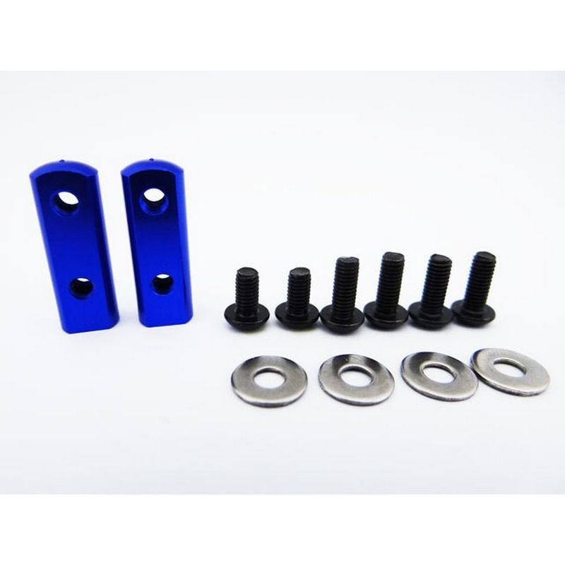 90 Degree Universal Servo Mount - Blue