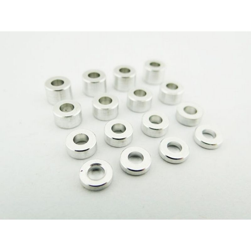 M3 Aluminum Standoff Spacer Set (4x)(1.5-2.5-3.5-4.5mm)