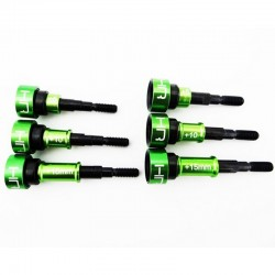 Wide Axles for SSCX288 CV Axle +5mm +10mm +15mm (3pr)