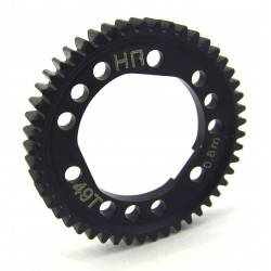 Steel Spur Gear for Center Diff (49T 0.8M/32P) - Tra 4x4