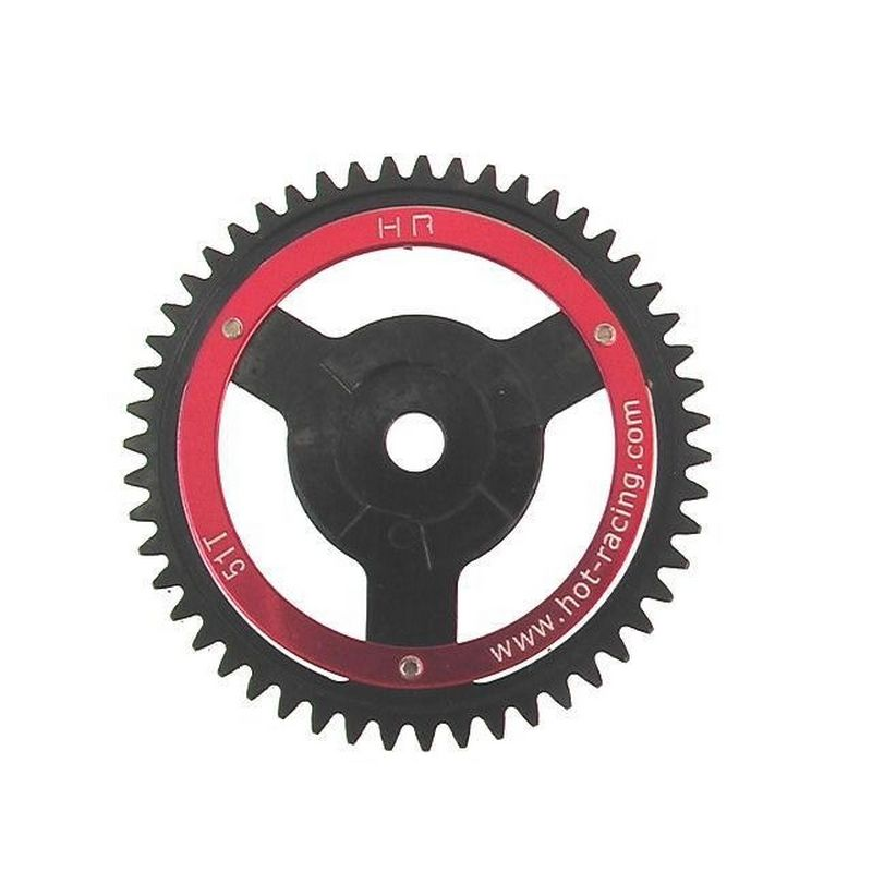 Dds Red Steel Spur Gear 51t SAVX
