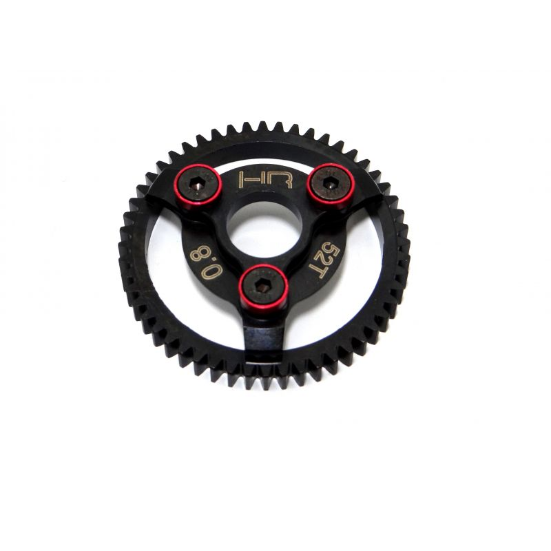 Steel Spur Gear (52t 32p)(Red) - Traxxas