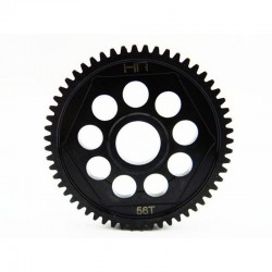 Steel Spur Gear 56 Tooth 32 Pitch - Axial Yeti and Scx