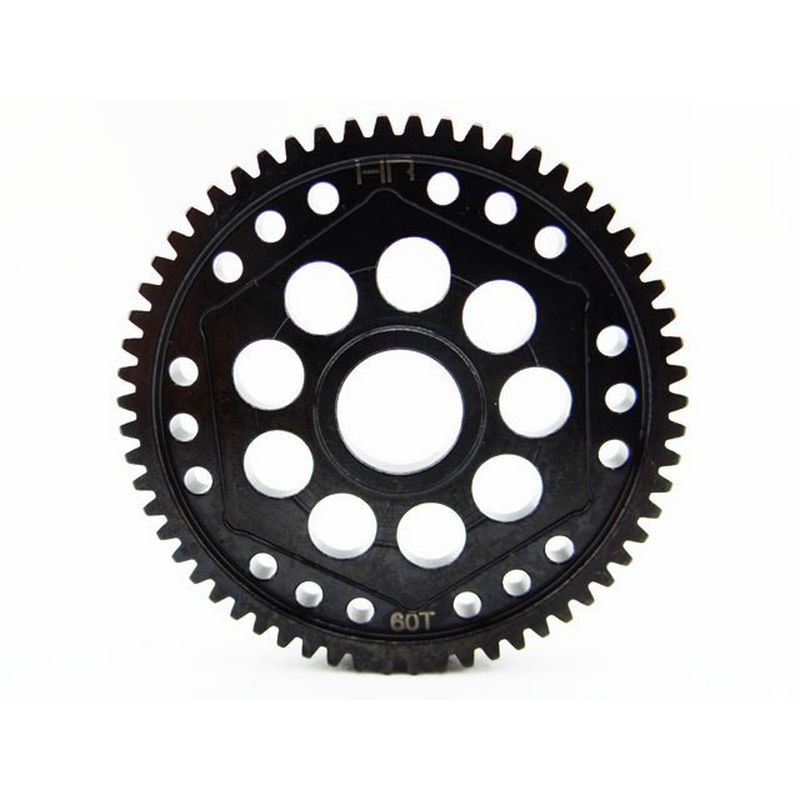 Steel Spur Gear 60 Tooth 32 Pitch - Axial Yeti and Scx