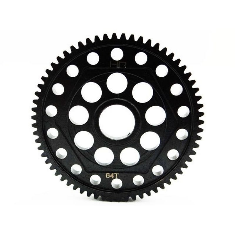 Steel Spur Gear 64 Tooth 32 Pitch - Axial Yeti and SCX