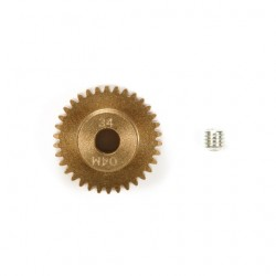 0.4 Module Pinion Gear 34t Hard Coated Aluminum