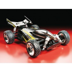 1/10 RC Dual Ridge Black Metallic TT-02B Kit