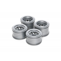 F104 Mesh Wheels For Rubber Tires (2)