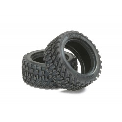 RC M Chassis Rally Block Tires - 2 pieces