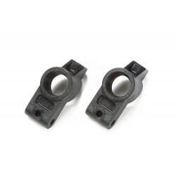 Tamiya E Parts Carbon Reinforced Rear Uprights TRF418 [54570]