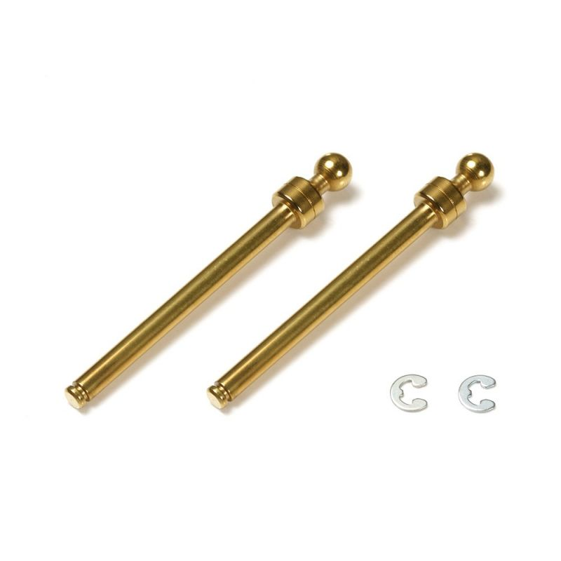 Tamiya Titanium Coated Suspension Ball Shaft M-Chassis Front [54583]