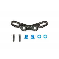 Tamiya RC M-07 Concept Damper Stay - Carbon (Front) [54761]