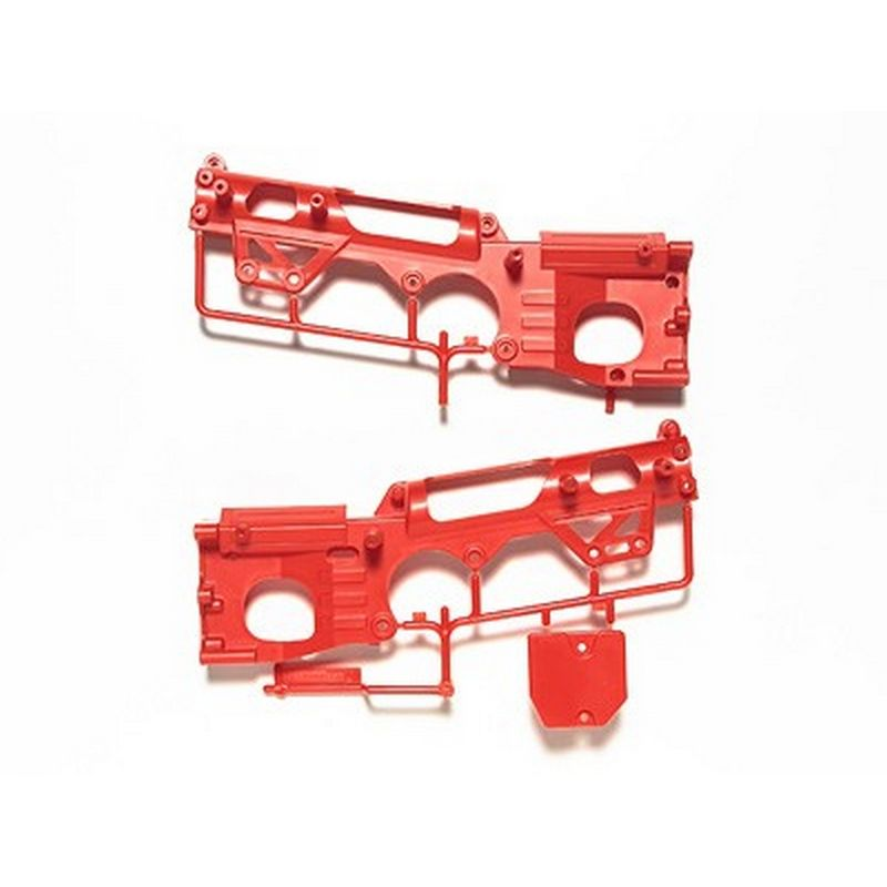 Tamiya RC WR02 D Parts Color Chassis - Red [84348]