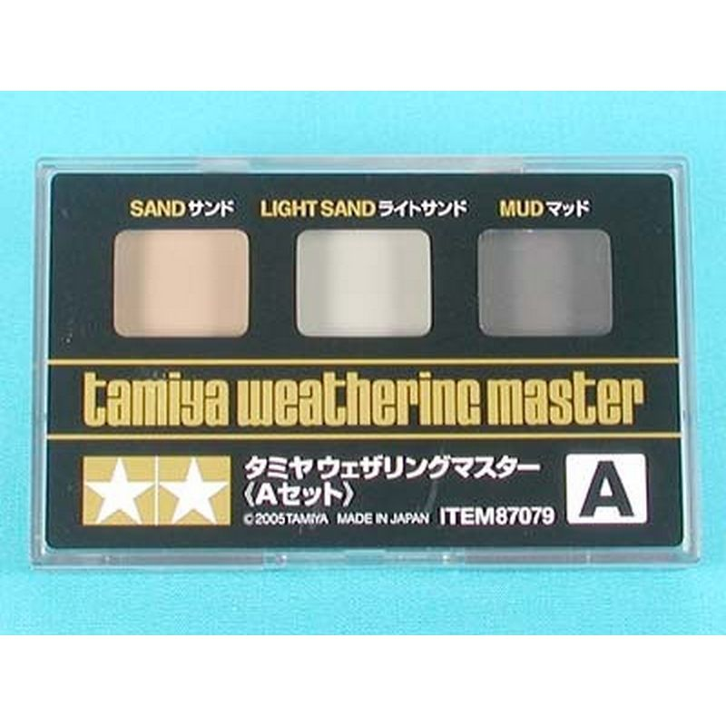 Weathering Paint Set A