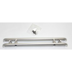 Aluminum Rear Bumper with w/ LED Buckets