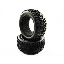 1.9 Rally Block Tires with Foam Inserts