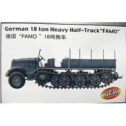 1/72 German 18 Ton Famo Heavy Half Track