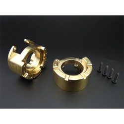 76g Heavy Brass Portal Drive Axle Weights