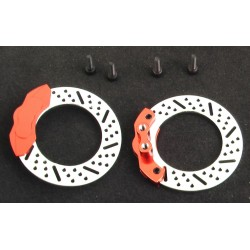 Orange Disc Brake Caliper (2)