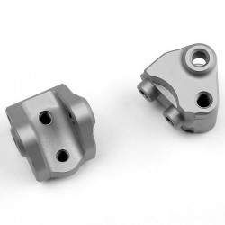 Vanquish SCX10-II Lower Link/Shock Mount Clear Anodized [VPS04467]