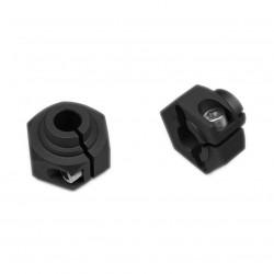 12mm Hex Black Anodized
