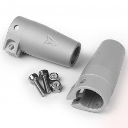 Axial Wraith / Yeti Clamping Lockouts Clear Anodized