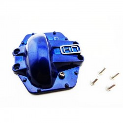 Metal Low Profile AR60 Diff Cover (Blue) - Yeti Wraith AX10