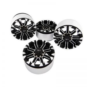 2.2 Aluminum J Type Beadlock Wheels (4)