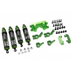 Green Suspension Tuning Hop up Set Traxxas 1/10 2WD
