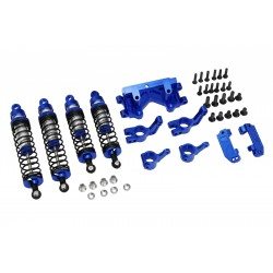 Blue Suspension Tuning Hop up Set Traxxas 1/10 2WD