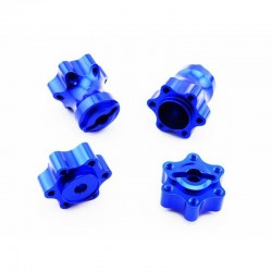 Aluminum One-Piece Wheel Hubs - Axial Yeti Wraith AX10
