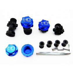 Hot Racing 17mm Serrated Nuts for Stock Wheel Axle Yeti [YET17LN06]