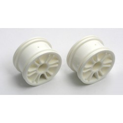 Front Spoke Wheel White 18b (2)