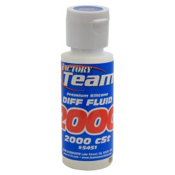 Silicone Diff Fluid 2000cst for Gear Diffs