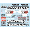 RC8B3 Decal Sheet