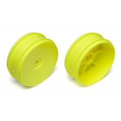 Front 2WD Buggy Wheel 61mm Yellow (2)