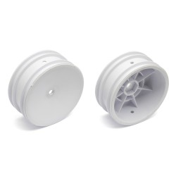 Front Buggy Dish Wheels White (2)