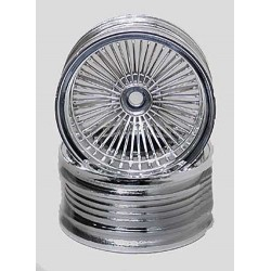 1/10 Chrome Wire Rims (2)