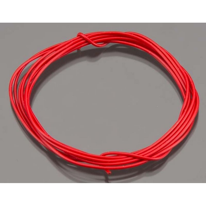 Wire 60 Inch 24 Awg Red