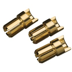 GOLD BULLET CONN MALE 6mm (3)