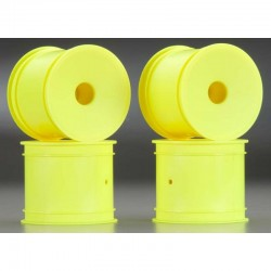 Mono T4.1 12mm Hex Front/Rear Wheels Yellow (4
