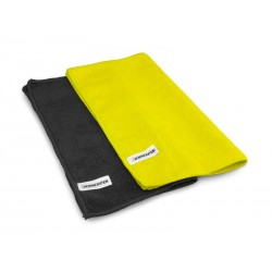 Dirt Racing Microfiber Tower Black/Yellow (2)
