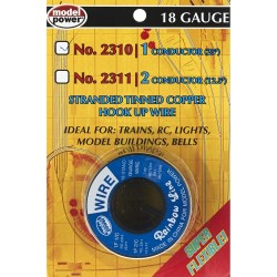 1 Conductor Wire Carded 18 (Gauge) 25