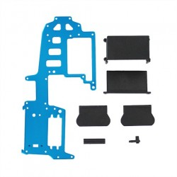 Aluminum upper plate (blue) (requires 83014 battery pack) ~