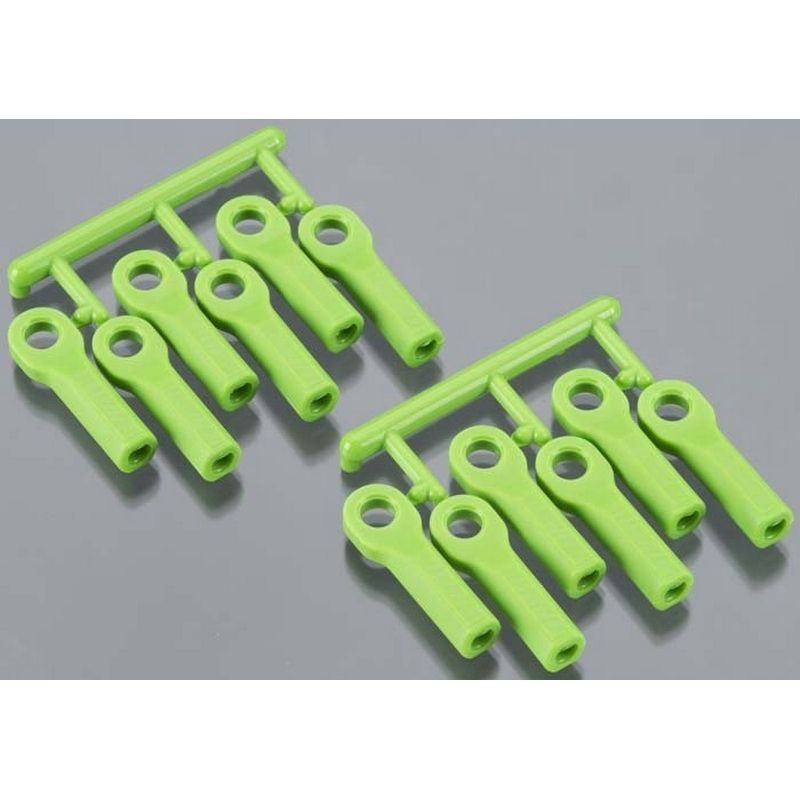 RPM Rod Ends Long Green Traxxas